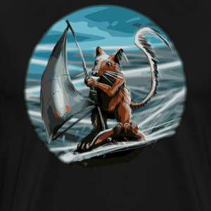 Squirrel surfer - Men's Premium T-Shirt