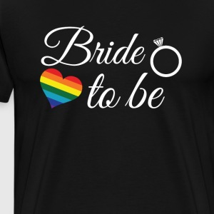 Bride To Be T-Shirt - Men's Premium T-Shirt