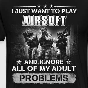 airsoft - Men's Premium T-Shirt
