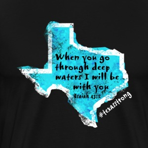 Texas Prayer - Men's Premium T-Shirt