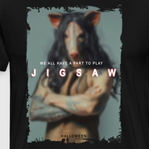 Jigsaw Movie 2017 - He All Have a Part To Play - Men's Premium T-Shirt