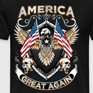 America great again - Men's Premium T-Shirt