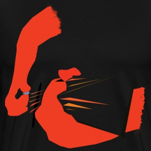 Abstract Guitarist - Men's Premium T-Shirt