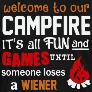 wellcome to our campfire - Men's Premium T-Shirt