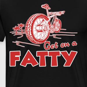 Fat Bike Shirt - Men's Premium T-Shirt