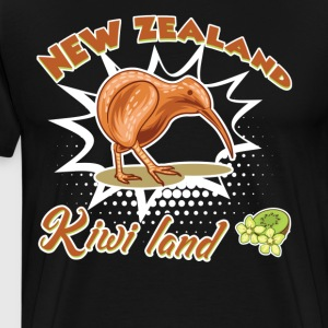 New Zealand Kiwi Shirt - Men's Premium T-Shirt
