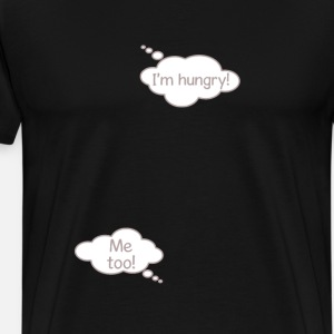 I'm Hungry Funny Pregnancy Baby Bubble T-shirt