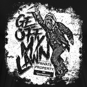 Property Rights - Get off My Lawn - Men's Premium T-Shirt