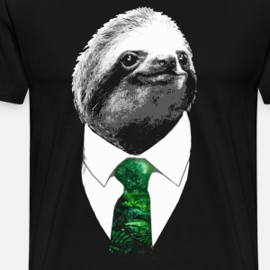 Boss Sloth - Mr. Sloth with Rainforest Tie