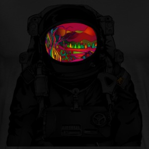 tripped out space man - Men's Premium T-Shirt