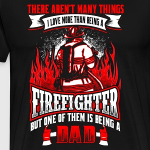 FireFighter Dad - Men's Premium T-Shirt