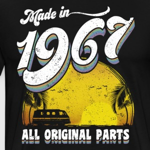 Made in 1967. 50th Birthday Gift - Men's Premium T-Shirt