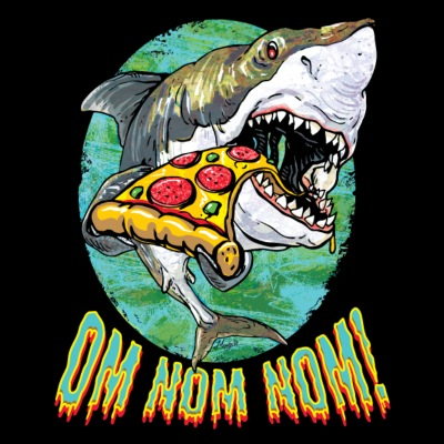 Great White Shark Pizza