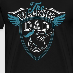 I'm A Walking Dad T Shirt - Men's Premium T-Shirt