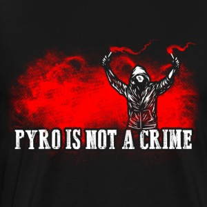 ACAB Pyro is not a crime - Men's Premium T-Shirt
