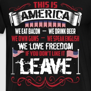 This Is America T Shirt - Men's Premium T-Shirt