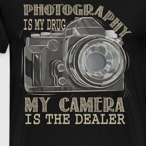 Photography Is My Drug T Shirt - Men's Premium T-Shirt