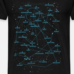 The verse map - T - shirt for verse lover