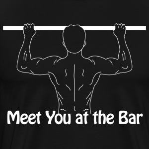 Meet you at the bar - Men's Premium T-Shirt