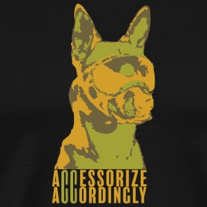 Accessorize Accordingly Earth - Men's Premium T-Shirt