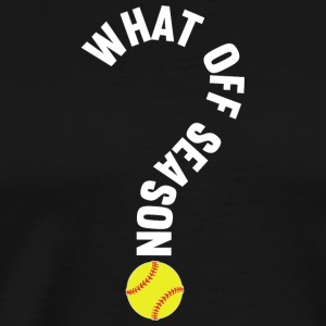 What Off Season Softball Player T Shirt - Men's Premium T-Shirt
