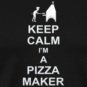 keep calm i m a pizza maker g1 - Men's Premium T-Shirt