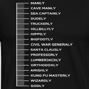 Beard Scale - Men's Premium T-Shirt