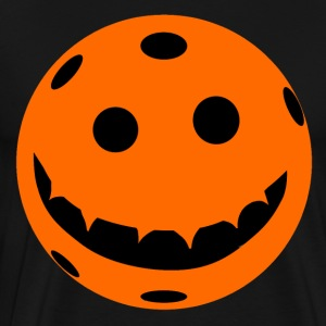 Pickleball Jack o Lantern Pumpkin - Men's Premium T-Shirt