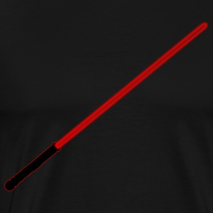 Red Lightsaber - Men's Premium T-Shirt