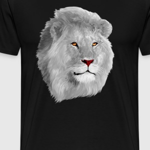 White Lion T-shirt - Men's Premium T-Shirt