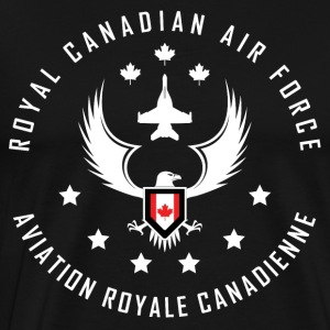 Canadian Air Force Line - Men's Premium T-Shirt