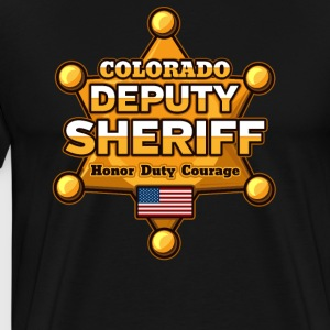 Colorado Deputy Sheriff - Men's Premium T-Shirt