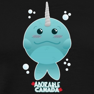 Adorable Canada - Narwhal - Men's Premium T-Shirt