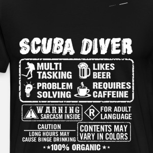 SCUBA DRIVER diving and funny