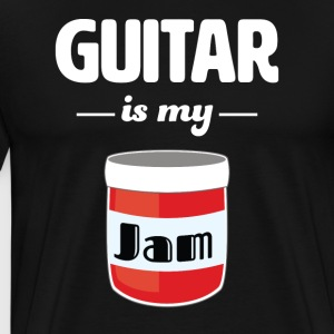 Guitar is my Jam - Men's Premium T-Shirt