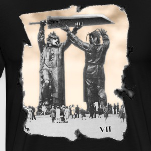 Cloud & Zack Statues - Men's Premium T-Shirt