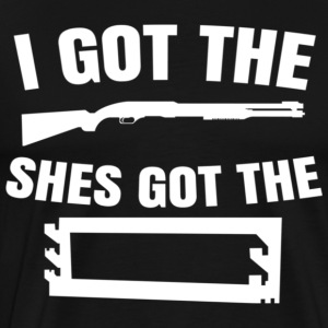 I Got The Gun - Men's Premium T-Shirt