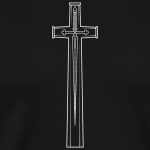 Cross of Sacrifice - Men's Premium T-Shirt