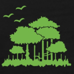 Trees design - Men's Premium T-Shirt