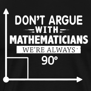 Mathematician Shirt - Men's Premium T-Shirt