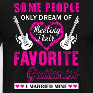 Guitarist Wife Shirt - Men's Premium T-Shirt