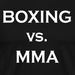 Boxing Vs MMA Shirt Limited - Men's Premium T-Shirt