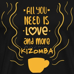 need love and kizomba - Men's Premium T-Shirt