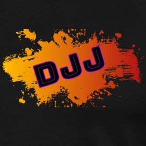 DJJ-Orange and Red splash - Men's Premium T-Shirt