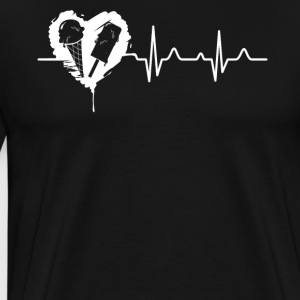 Ice Cream Heartbeat Shirt - Men's Premium T-Shirt