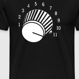 volume knob - Men's Premium T-Shirt