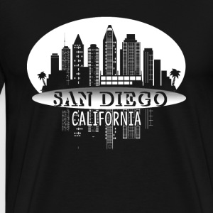 SAN DIEGO CALIFORNIA SHIRT - Men's Premium T-Shirt