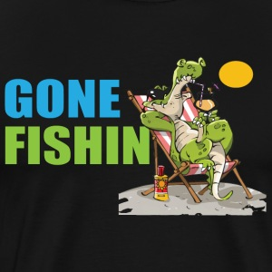 Gone Fishin No 4 - Men's Premium T-Shirt