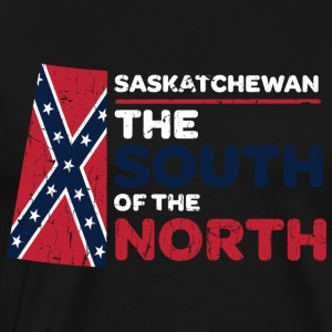 Saskatchewan: the South of the North - Men's Premium T-Shirt