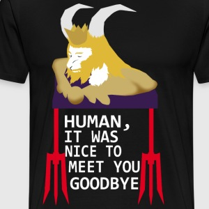 Goodbye human - Men's Premium T-Shirt